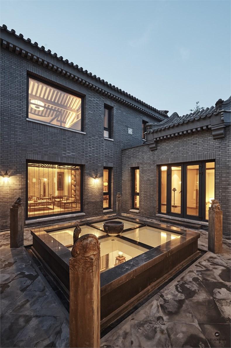 本项目空间为新中式禅意风格,承袭礼御文化,将中式九礼精髓蕴藏其中