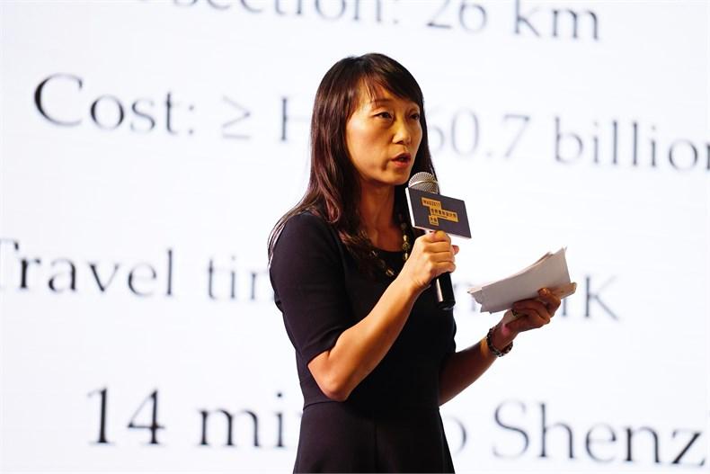香港城市大学助理教,美国麻省理工学院城市规划博士李欣女士发表主题演讲.JPG