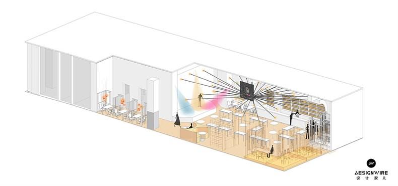 巨说还不错音乐餐厅-轴侧图1.jpg
