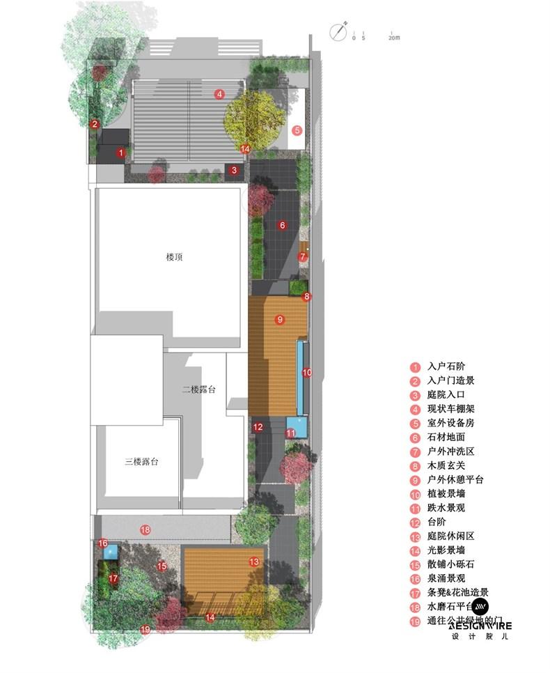 杨添堡:上海南翔光影住宅设计-22