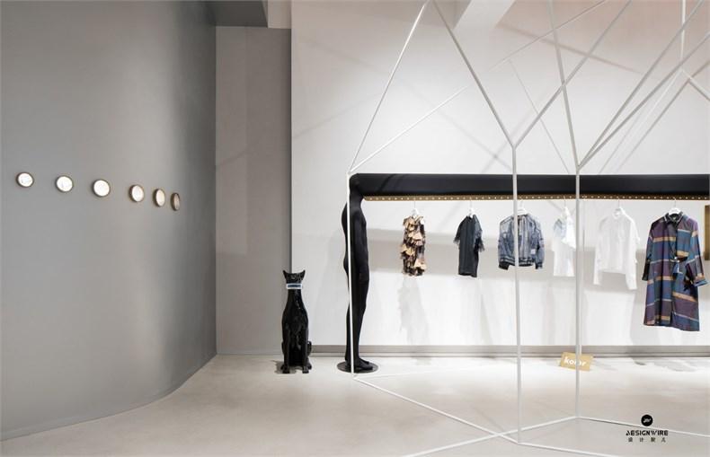 叶梹室内设计:杭州CHOCLAB潮牌店设计-09