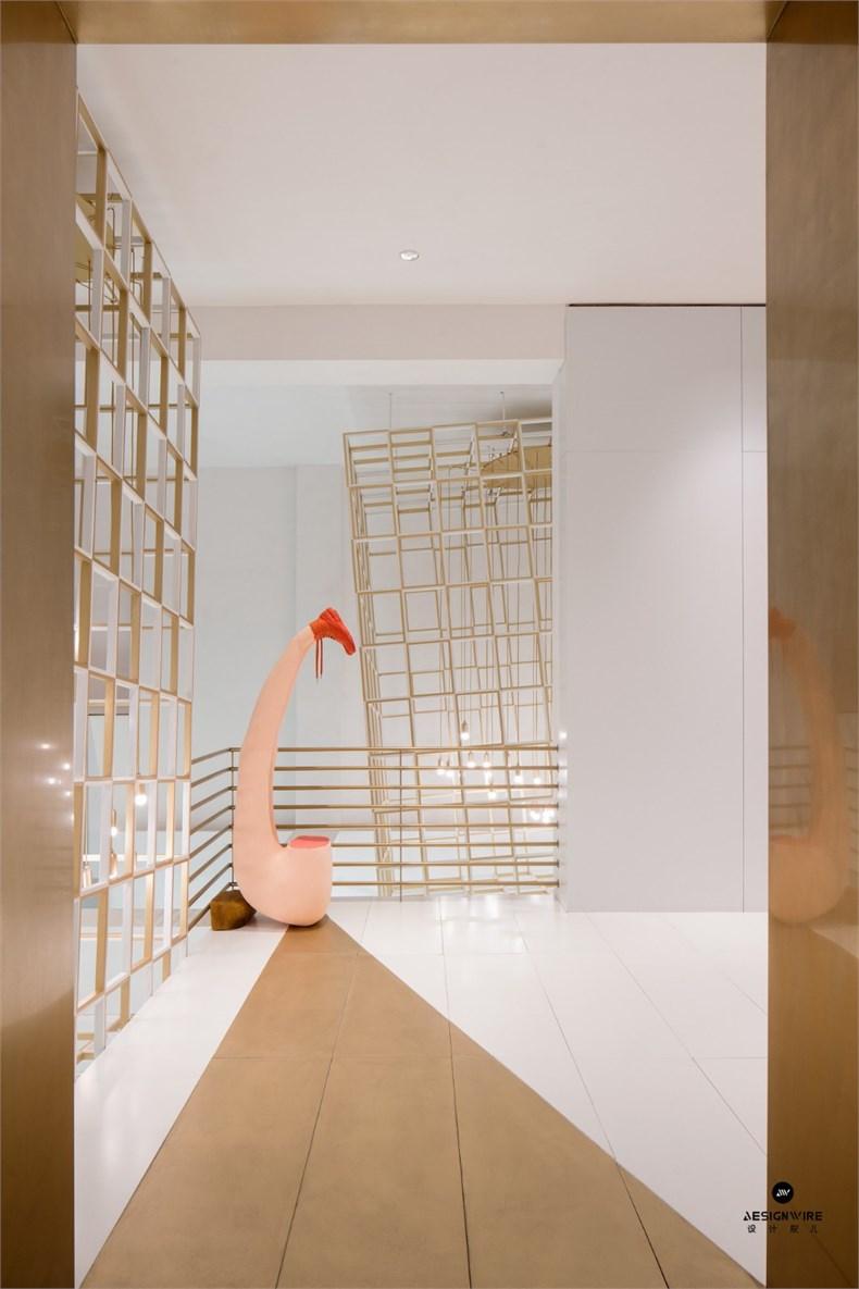 叶梹室内设计:杭州CHOCLAB潮牌店设计-12