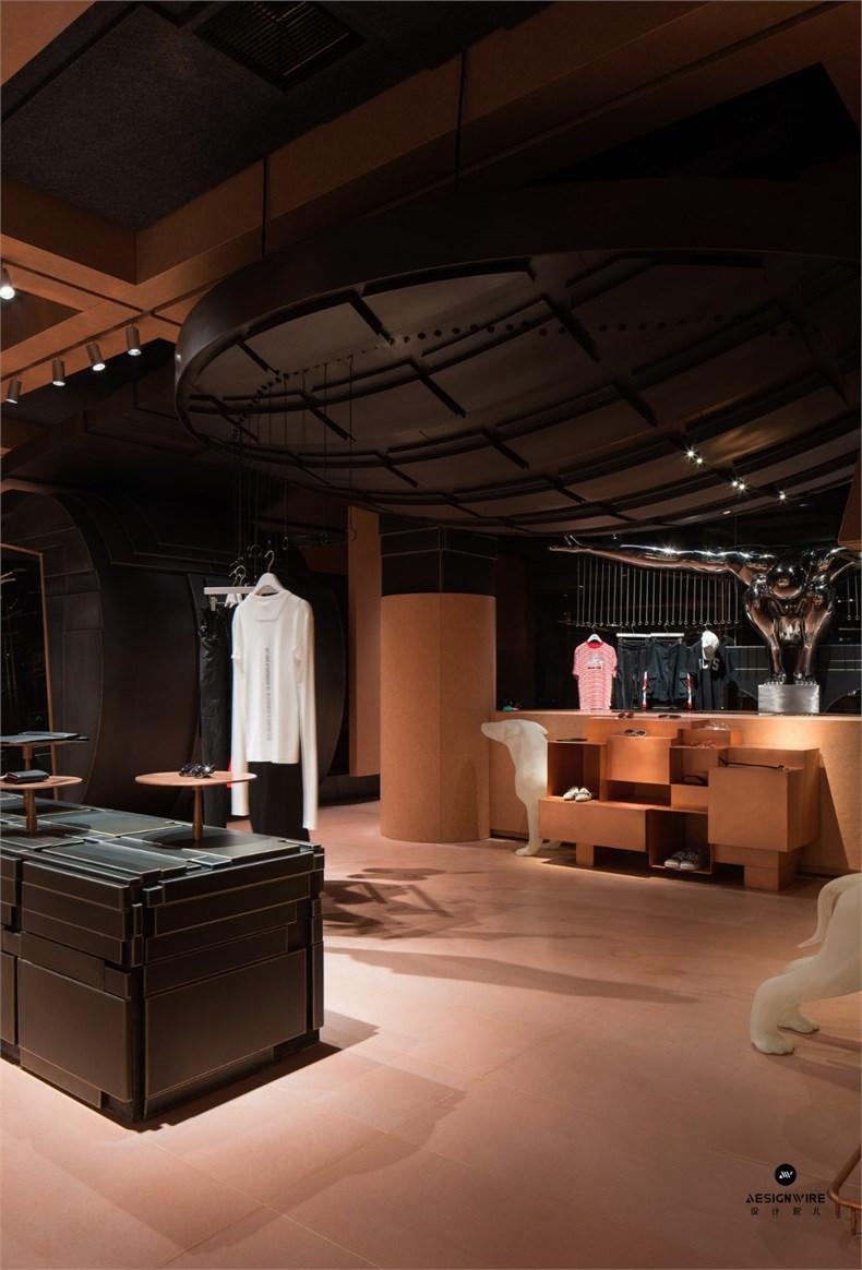 叶梹室内设计:杭州CHOCLAB潮牌店设计-15