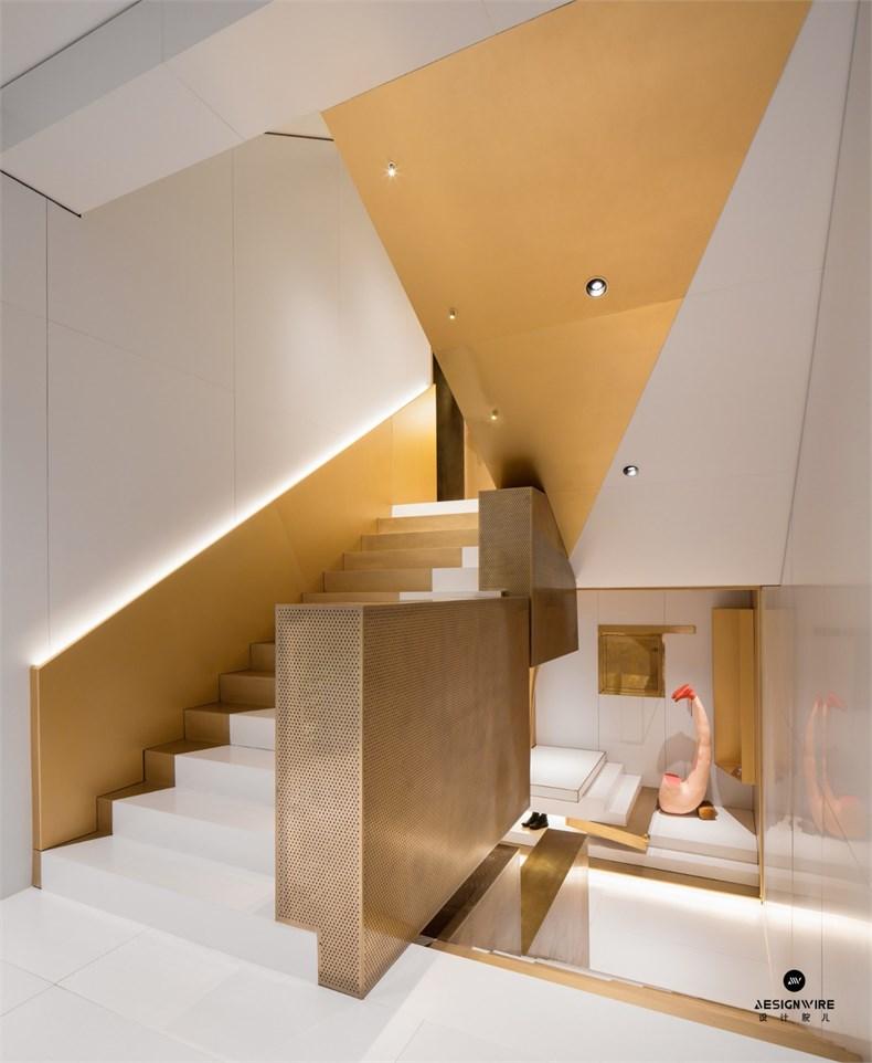 叶梹室内设计:杭州CHOCLAB潮牌店设计-10