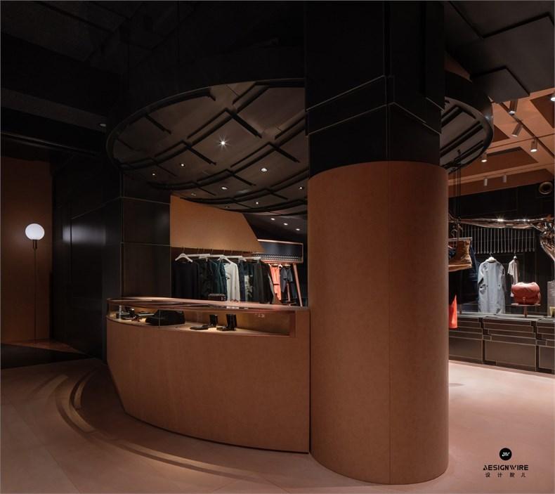 叶梹室内设计:杭州CHOCLAB潮牌店设计-14