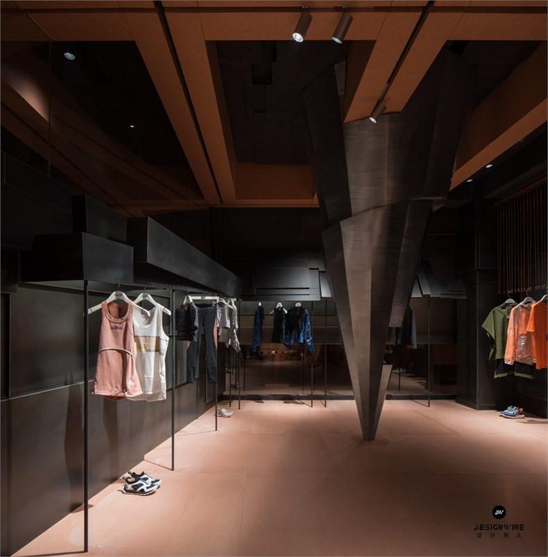 叶梹室内设计:杭州CHOCLAB潮牌店设计-19