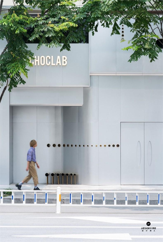 叶梹室内设计:杭州CHOCLAB潮牌店设计-01