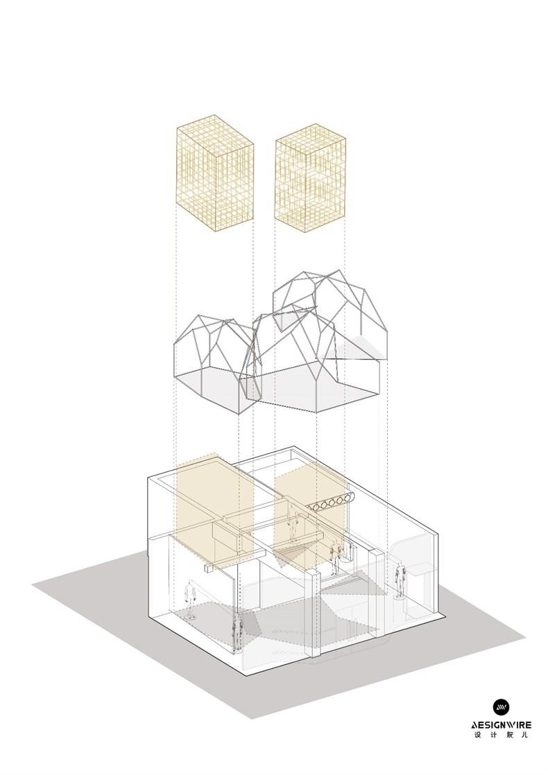 叶梹室内设计:杭州CHOCLAB潮牌店设计-33