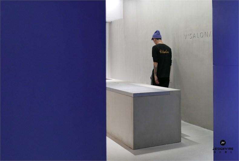尔我空间设计:临时迷镜南京理发店设计-8