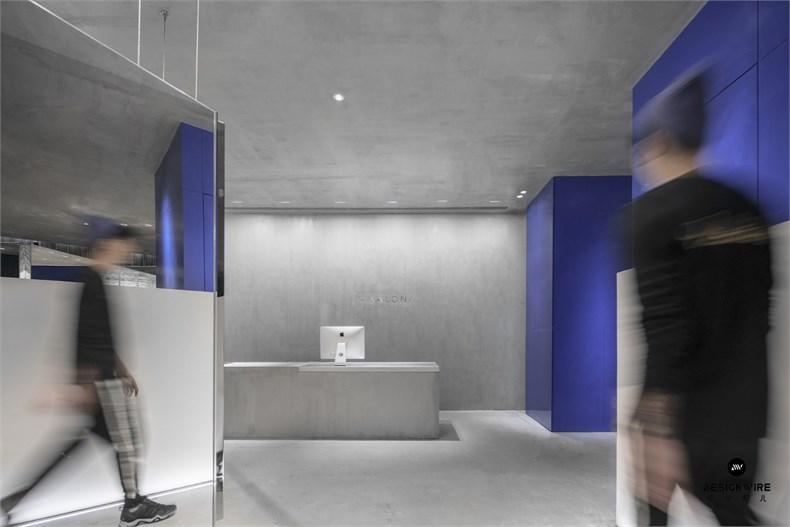 尔我空间设计:临时迷镜南京理发店设计-1
