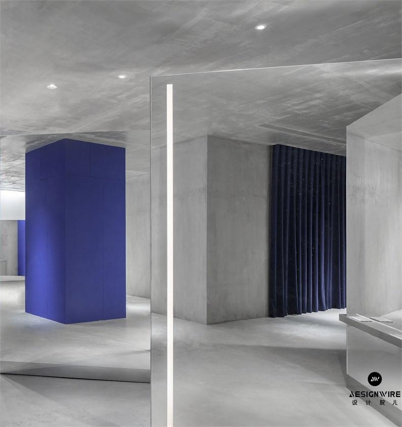 尔我空间设计:临时迷镜南京理发店设计-13