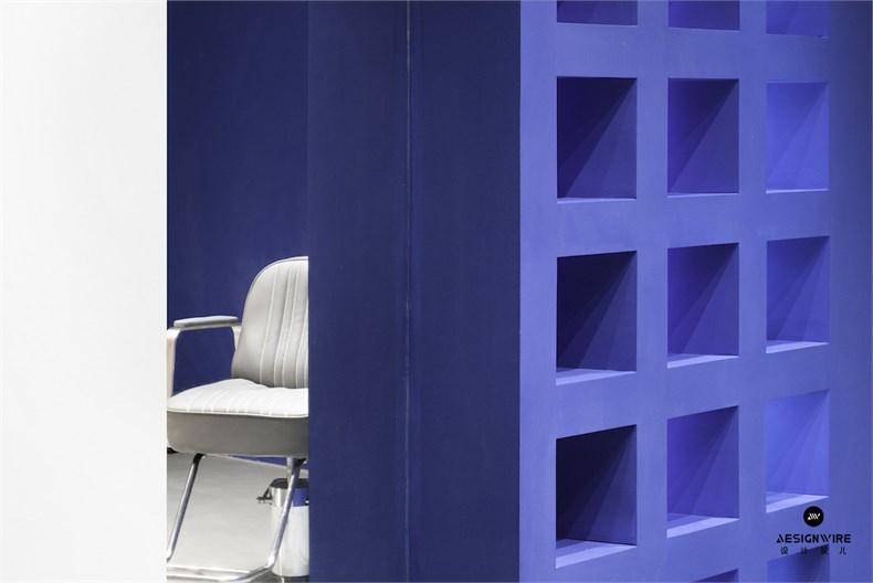 尔我空间设计:临时迷镜南京理发店设计-15