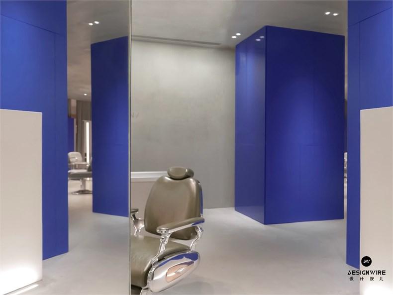 尔我空间设计:临时迷镜南京理发店设计-5
