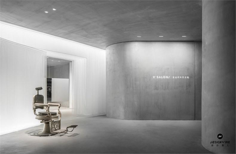 尔我空间设计:临时迷镜南京理发店设计-3