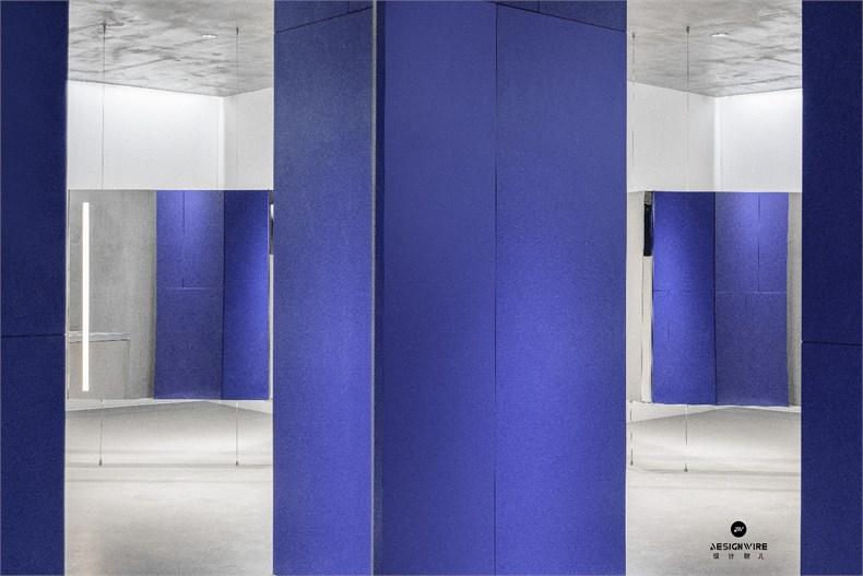 尔我空间设计:临时迷镜南京理发店设计-10