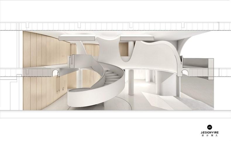 PONE ARCHITECTURE:武汉保利和乐国际艺术中心设计-29