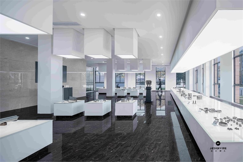 米丈建筑:新苏集团研发中心设计视频ui设计培训课程图片