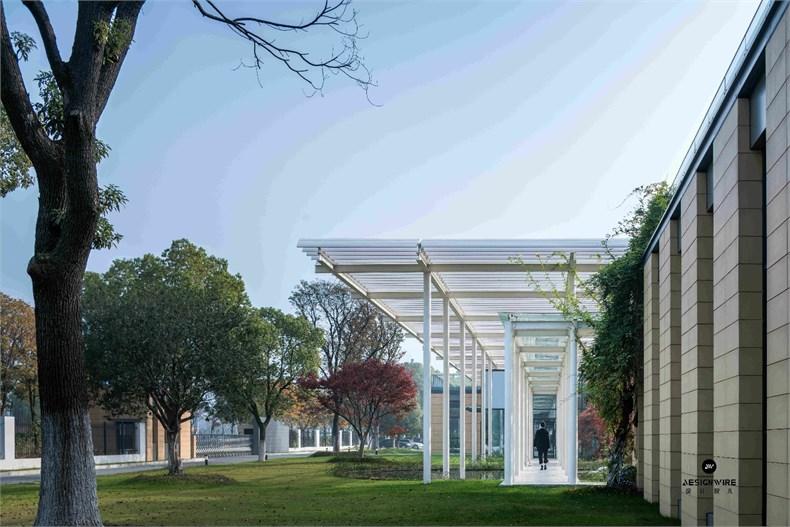 米丈建筑:新苏集团研发中心设计皖都徽韵设计图图片