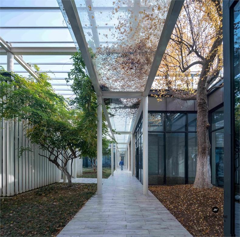 米丈建筑:新苏园林研发中心v园林psd设计素材集团图片