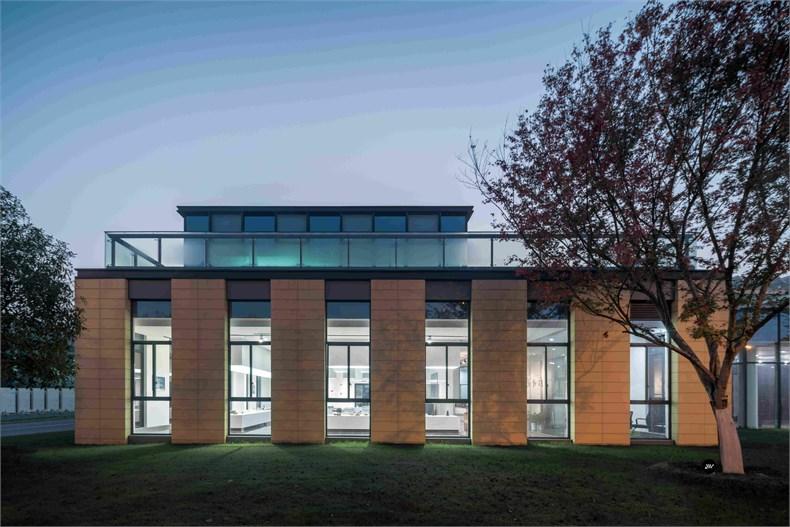 米丈建筑:新苏民族研发中心设计集团设计元素图片
