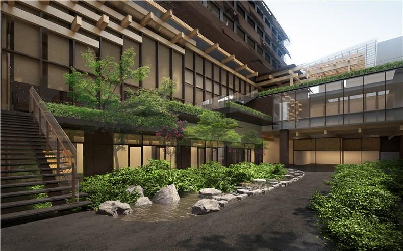 Ace Hotel Kyoto - Courtyard Rendering - credit KKAA.jpg