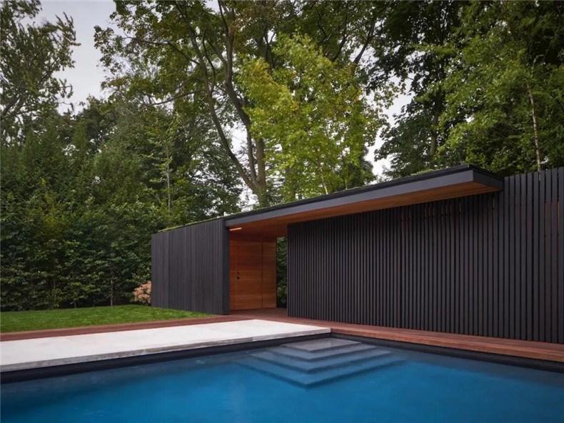 屋顶花园凉亭_加拿大多伦多的现代风庭院花园设计 - 设计腕儿【腕儿案例】