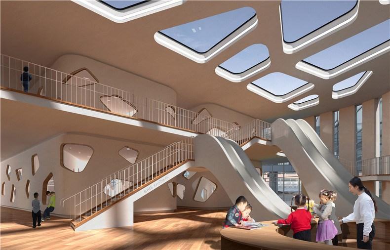 27-WEI architects-那和雅幼儿园-室内南.jpg